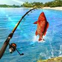 لعبة صيد السمك. صياد السمك محاكي