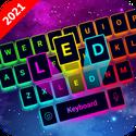 LED Keyboard - RGB Lighting Keyboard, Emojis, Font