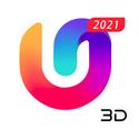 U Launcher 3D New Launcher 2020, 3d themes