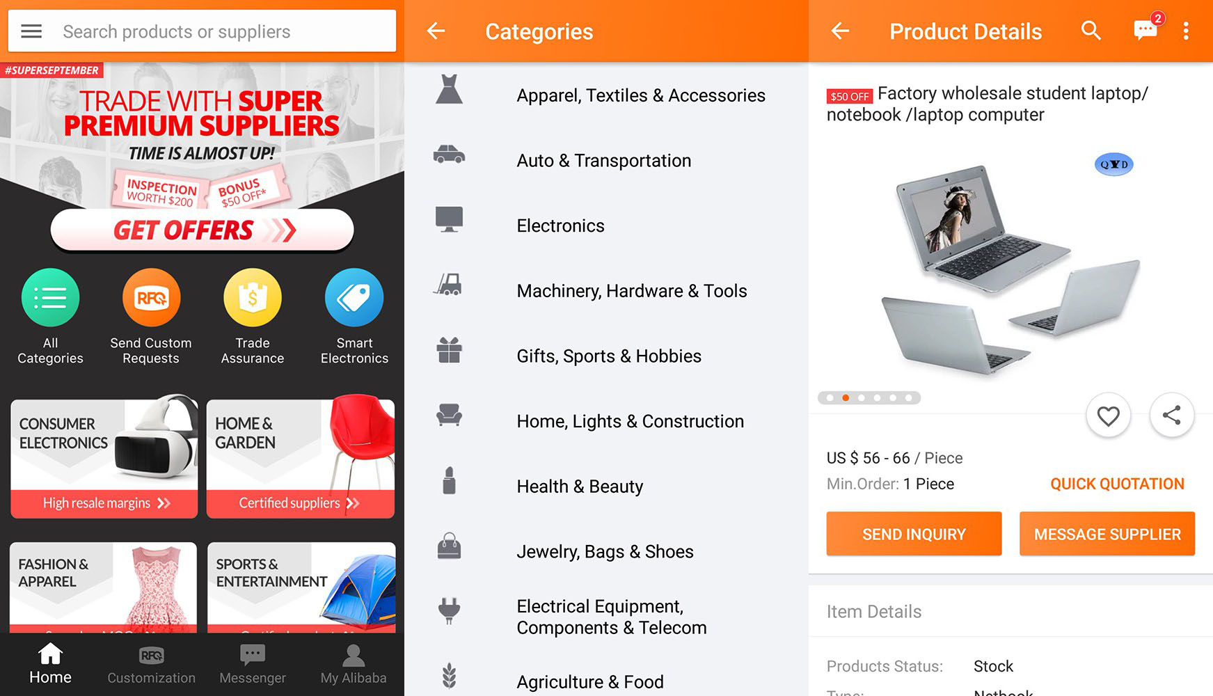 Download Alibaba Com Leading Online B2b Trade Marketplace 6 15 1 For Android Free The alibaba.com app is a shopping wholesale mobile marketplace for global trade. download alibaba com leading online