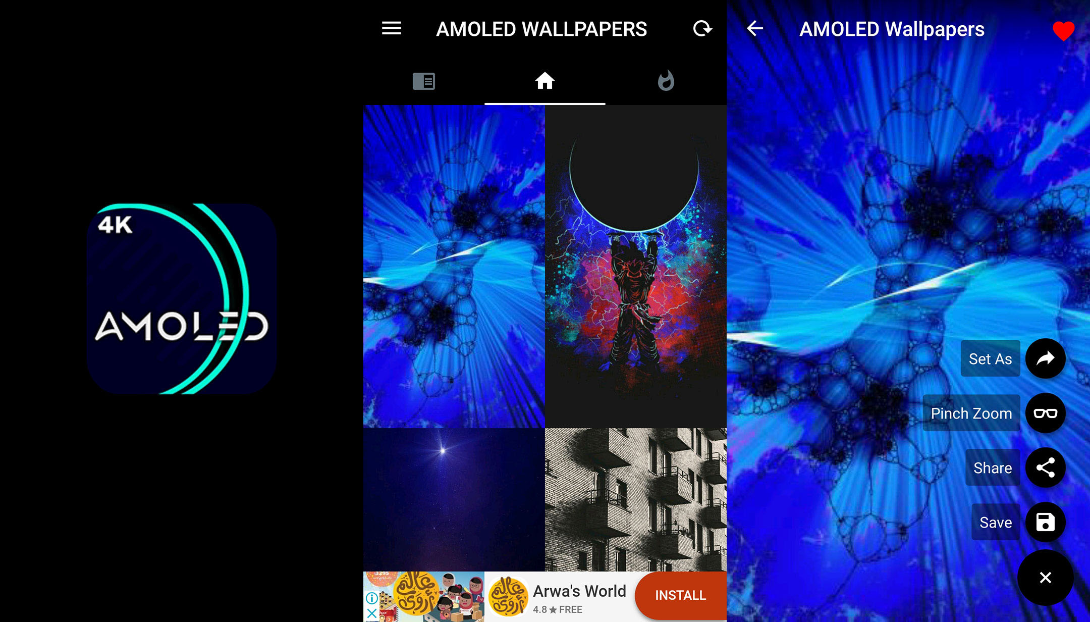 Download Amoled Wallpapers 4k Full Hd Backgrounds Latest Version For Android Free