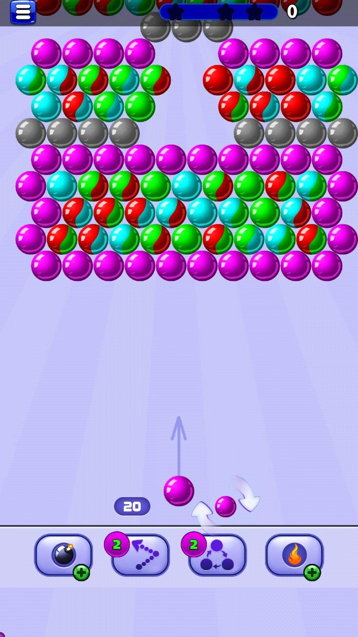 تحميل لعبة bubble shooter